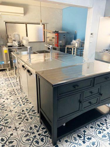 スイーツ工房・キッチンの新設