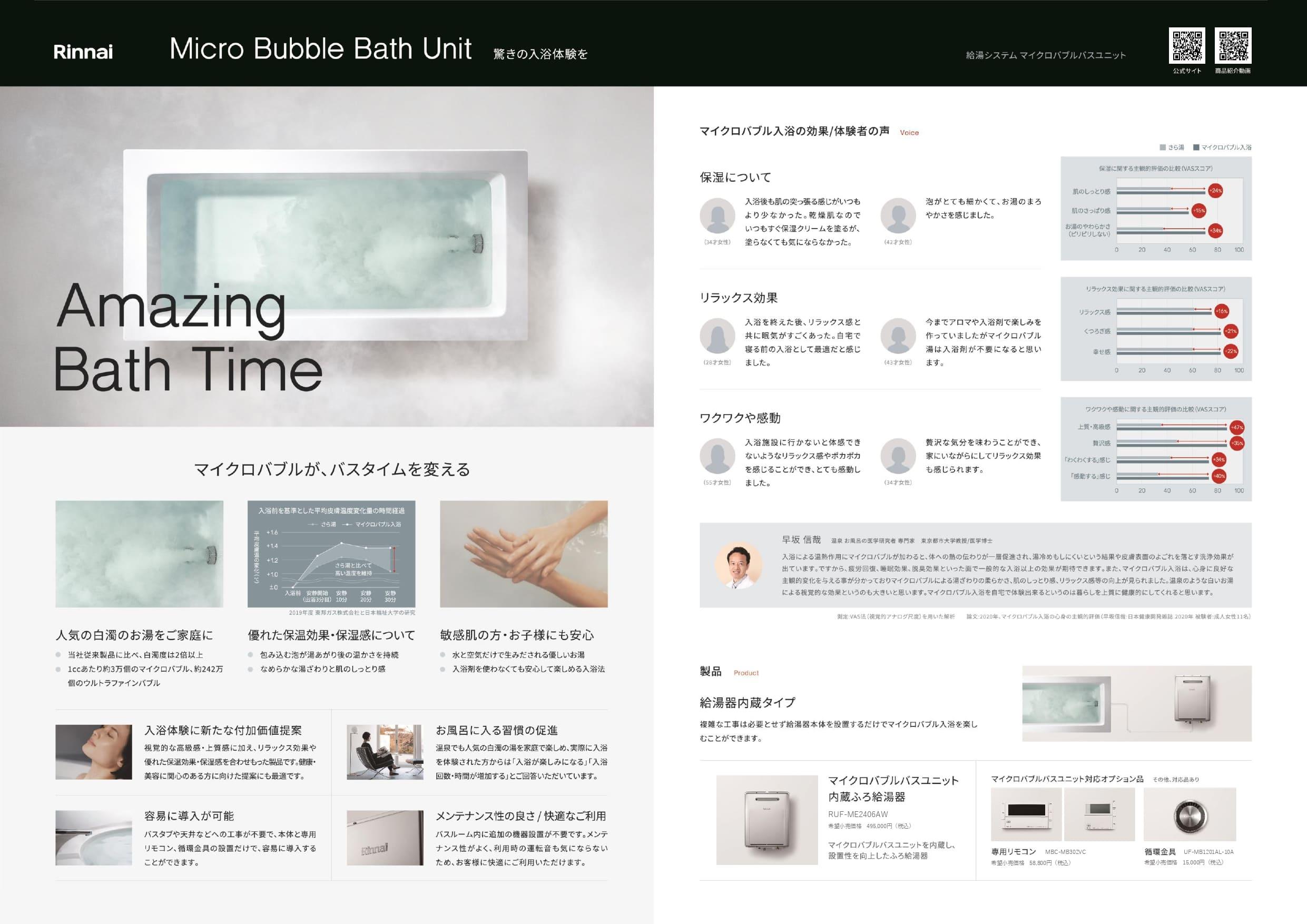シャワーもマイクロバブルになりますか?