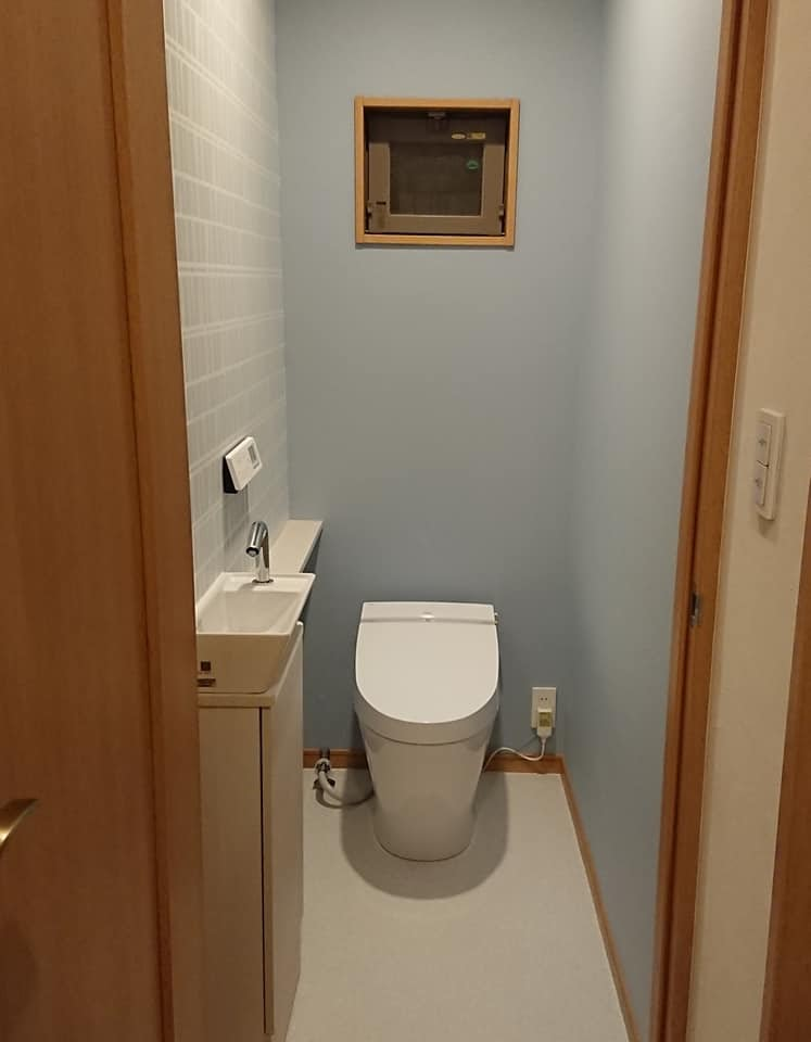 【コロナ対策に】しっかり手洗いできるトイレへリフォーム